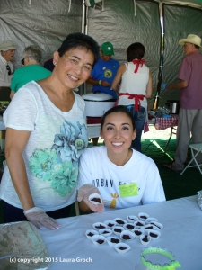 marcy jiminez, mackenzie williams, lima bean festival, brownies