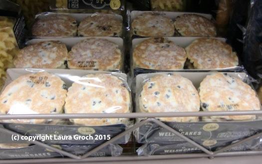 Welsh cakes in packaging