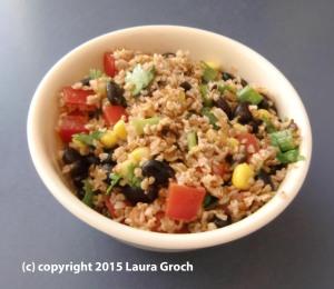 Southwestern Tabbouleh Salad