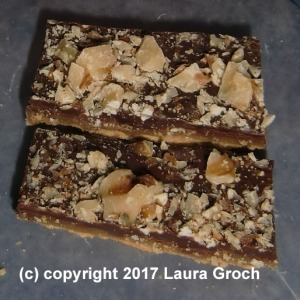 Toffee Bars, Almond Roca Bars