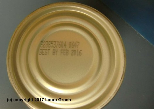 """Best by"" dates aren't absolutes. Most canned foods are perfectly fine for up to five years. (Photo by Laura Groch)"